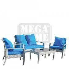 Градински комплект Samui KD син цвят