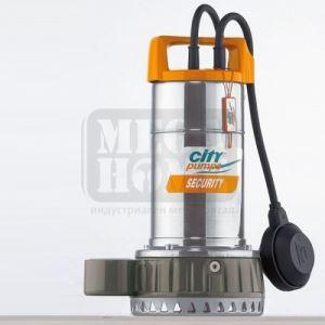 Дренажна помпа CITY SECURITY 10 Q: 25 - 325 л/мин