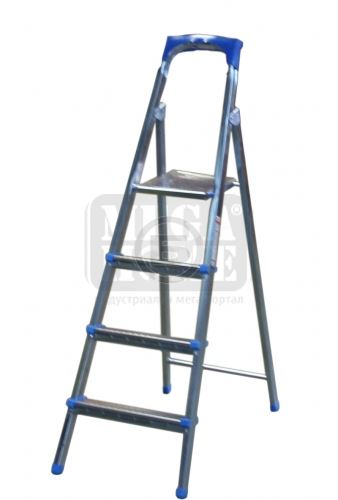 Алуминиева стълба 3 плюс 1 стъпала