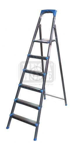 Алуминиева стълба 5 плюс 1 стъпала