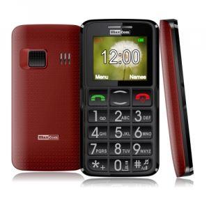 GSM с големи бутони Maxcom MM432 червен