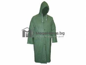 Дъждобран с качулка PVC зелен 0.15 мм Top Strong