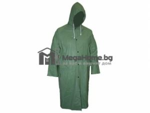 Дъждобран с качулка PVC зелен 0.20 мм Top Strong