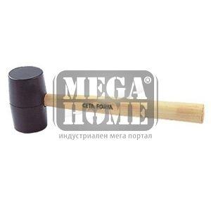 Чук гумен с дървена дръжка Ceta Form
