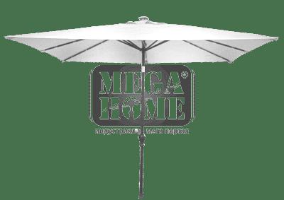 Градински чадър квадрат D010