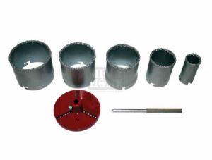 Боркорони за керамични плочки 7 части ø 33 - 83 мм Raider