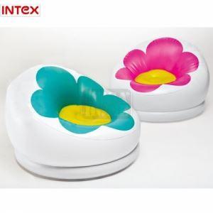 Надуваем стол Intex Цвете