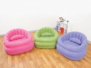 Надуваем кафе фотьойл Intex 91 х 102 х 65 см