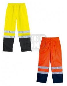 Панталон с висока видимост Coverguard Patrol оранжев