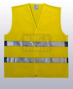 Сигнален елек Coverguard Yard жълт