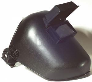 Шлем за заваряване с околожка и повдигащ се екран