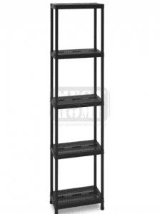 Стелаж PVC вентилиран рафт 5 х 24 кг