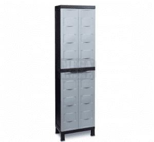 Шкаф PVC битов 65 х 37 х 173 см 20 кг