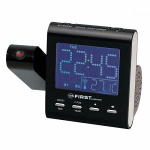 Радиочасовник с прожекция на часа First FA-2421-1