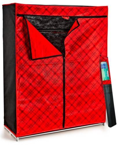 Сгъваем текстилен гардероб Perila 63003