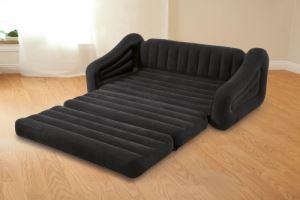 Надуваем разтегаем диван Intex