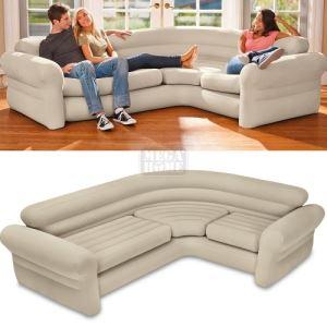 Надуваем ъглов диван Intex 257 х 203 х 76 см