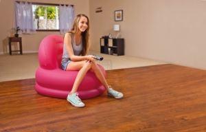 Надуваем стол Intex 84 х 99 х 76 см