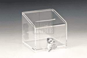 Акрилна кутия за бакшиши с ключалка AN ZCP-396