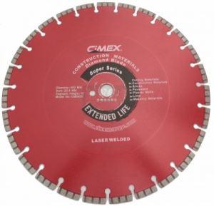 Диамантен диск Cimex CMS за строителни материали 300 - 650 мм