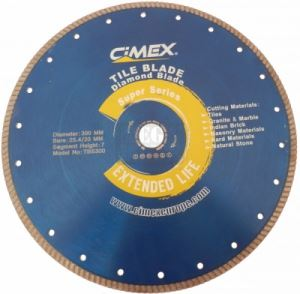 Диамантен диск Cimex TBS за плочки и фаянс 115 - 300 мм