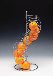 Метална стойка спирала за плодове AN CS-78430