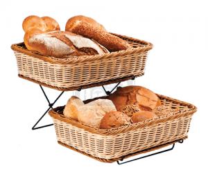 Панери за хляб 2 бр със стойка 27 х 36 см AN B-RE 3009/0130