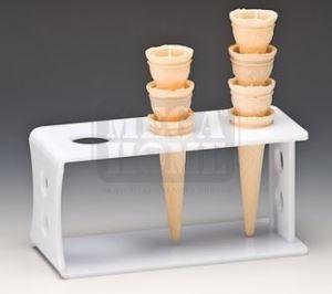 Стойка за фунийки за сладолед AN ZCP