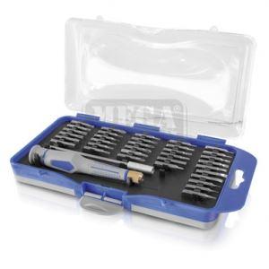 Комплект отвертка с накрайници ERBA 37 части micro