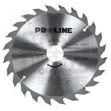 Циркулярен диск за дърво Proline Ø 152 - 250 х 20 / 16 мм