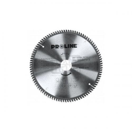 Циркулярен диск за алуминий Proline Ø 210 - 250 х 30 мм 100 зъба