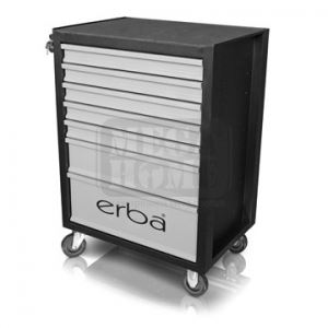 Количка за инструменти Erba 7 чекмеджета 660 x 447 x 920 мм