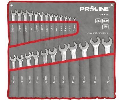 Комплект звездогаечни ключове Proline CrV 24 броя 6 - 32 мм
