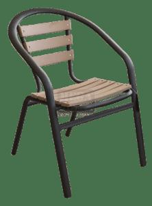 Стол с подлакътник Polywood Natural N - 604
