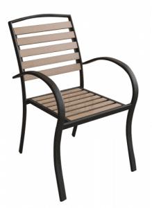 Стол с подлакътник Polywood Natural N - 611