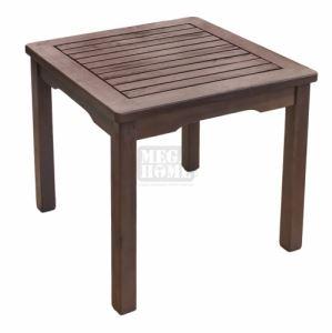 Дървена масичка за шезлонг 45 x 45 x 40 см T-5029Z