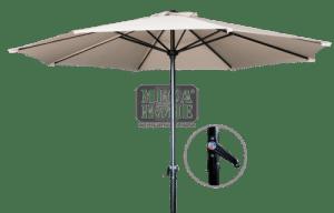 Градински чадър 2.7 м 8230 - B