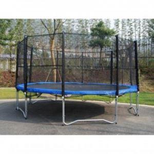 Комплект батут с мрежа и стълба 244 см Spartan Sport