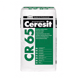 Хидроизолационен шлам CR 65 Ceresit