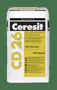 Разтвор за поправка на бетон CD 26 Ceresit