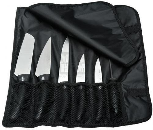 Комплект професионални ножове в калъф 6 бр PIRGE-DELUX (71328)