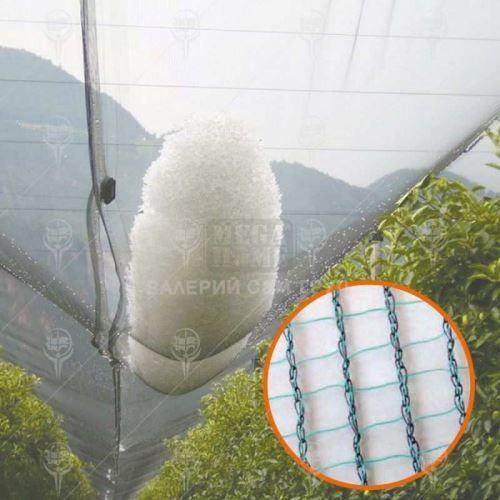 Защитна мрежа срещу градушка Premiumgarden 2 - 6 х 100 м