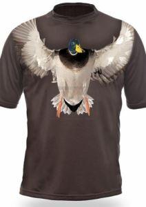 Тениска с къс ръкав Gamewear 3D Зеленоглава патица