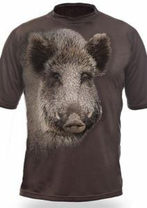 Тениска с къс ръкав Gamewear 3D Диво прасе