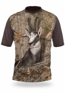 Тениска с къс ръкав Gamewear 3D Дива коза