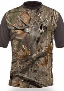 Тениска с къс ръкав Gamewear 3D Елен