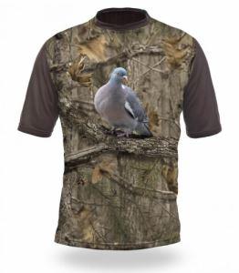 Тениска с къс ръкав Gamewear 3D Гълъб