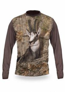 Тениска с дълъг ръкав Gamewear 3D Дива коза