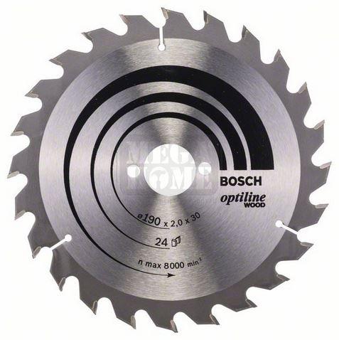 Диск Bosch Optiline Wood за ръчен циркуляр