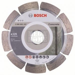 Диамантен диск за сухо рязане Bosch Standard for Concrete